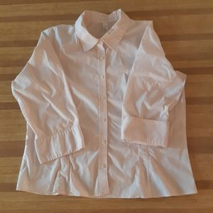🌟Old Navy Perfect Fit Pink Button Down Shirt XXL